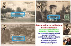 3-cartoline-2018-Vittorio-Centurione-Scotto-Castello-Monastero-Millesimo