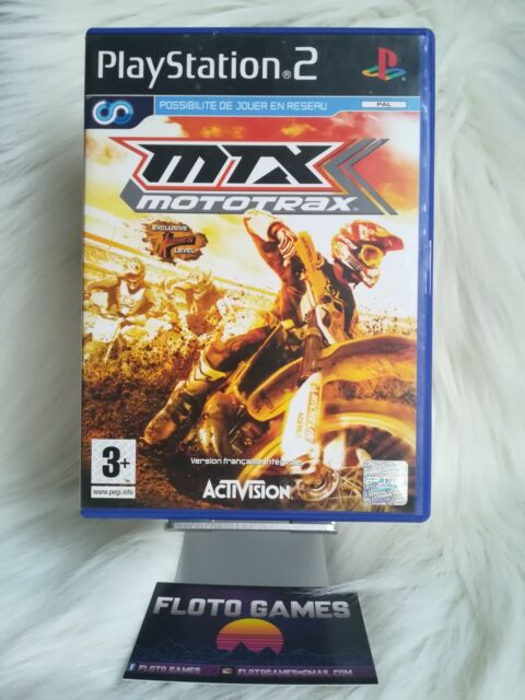 Jeu MTX Mototrax pour Sony Playstation 2 PS2 Complet CIB - Floto Games