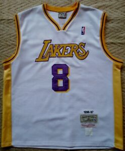 Details about Vintage Kobe Bryant Jersey LA. Lakers Mitchell & Ness NBA. Size.50 Made in USA