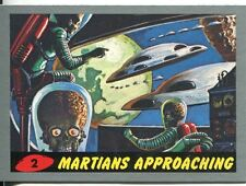 Mars Attacks Heritage Silver Parallel Base Card #2    Martians Approaching
