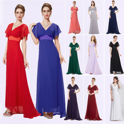 6300cbb49db8 Ever-Pretty Long Bridesmaid Evening Party Dress Cocktail Formal Prom Gown  09890