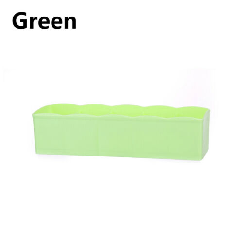 5 Grids Plastic Socks Underwear Storage Wardrobe Organizer Box Container Towel
