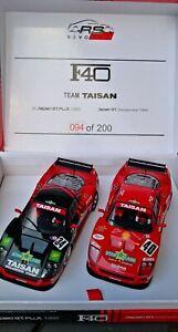 Revoslot ferrari f40 set-japón GT Championship Team Taisan #34 + #40