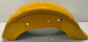 HARLEY-DAVIDSON-2011-SOFTAIL-FLSTFB-REAR-FENDER-CHROME-YELLOW-59596-11DGW-K385