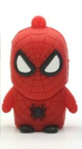 8 Go Spiderman Usb 2.0 Flash Pen Drive Memory Stick New Cartoon Spider Man 8 Go-afficher Le Titre D'origine