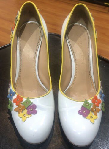 LOUIS VUITTON Flower Pumps Shoes