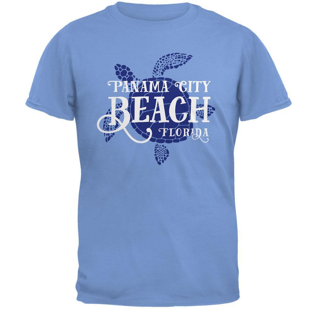 Summer Sun Sea Turtle Panama City Beach Mens T Shirt