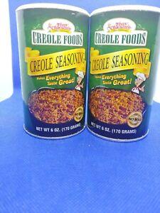 Tony-Chachere-039-s-Original-Creole-Seasoning-Shakers-6-oz-each-Exp-Lot-of-2-G4