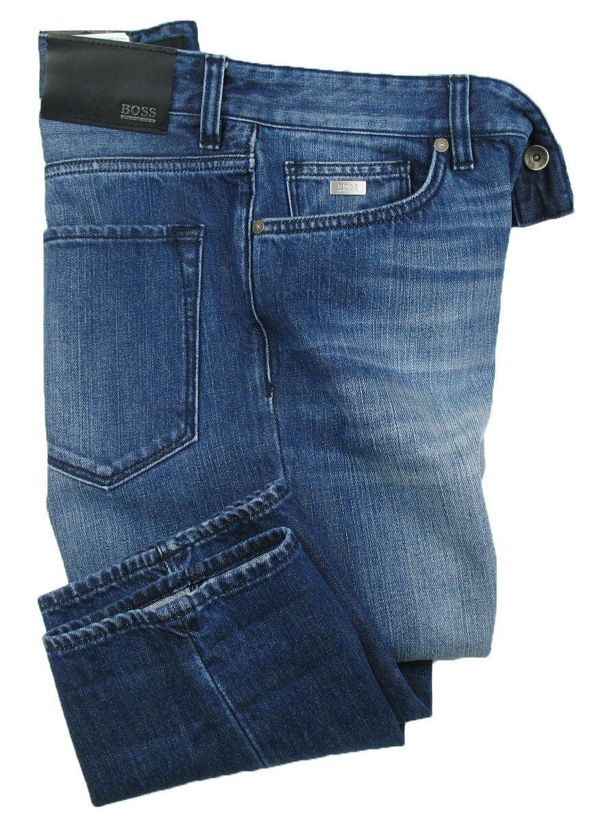 Boss nero Jeans Maine in in in W33 L34 (regular fit) blu TRATTATO 9207ca