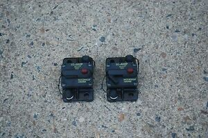 BUSS HI-AMP 185040F WATERPROOF CIRCUIT BREAKER 40AMP SWITCHABLE RESET LOT OF 2