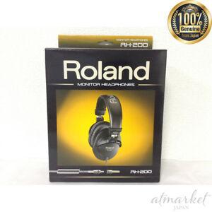 Caricamento dell immagine in corso Nuovo-Roland-RH-200-Stereo-Cuffie -Monitor-Nero- d137be161d54