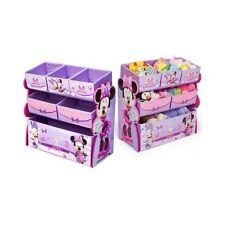 Toy Storage Organizer Disney Pink Bin Minnie Mouse Kid Chest Bedroom Closet  Girl