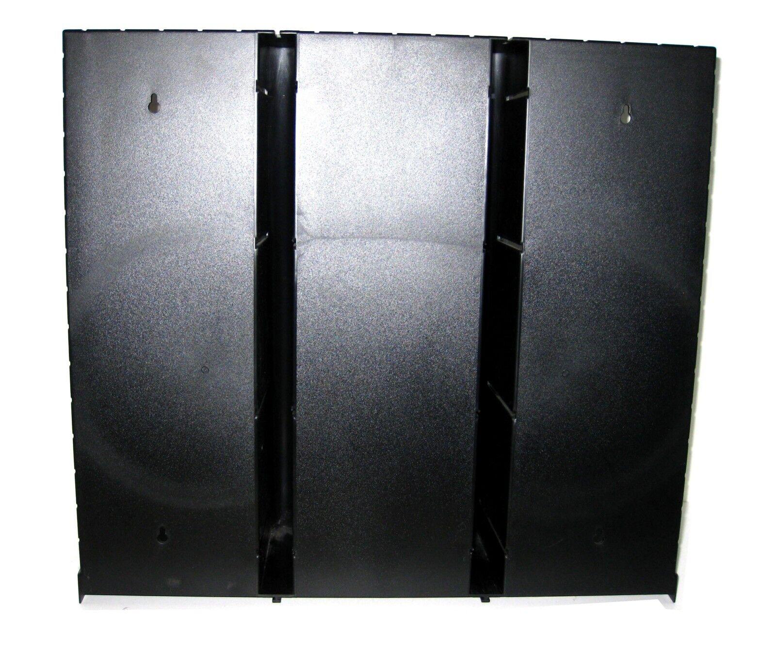 LASERLINE 36 CD STORAGE RACK HOLDER WITH DOOR BOX WALL MOUNT DESK TOP ORGANIZER