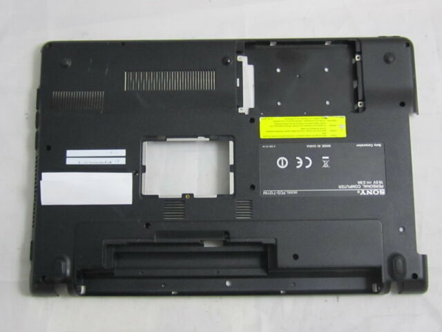 Untergehäuse Gehäuse Bottom Base 012-002A-3023-B für Sony Vaio PCG-71211M VPCEB