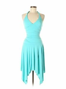 NWT-Wrapper-Women-Blue-Dress-S