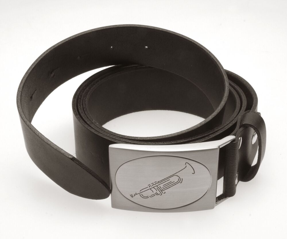 Gürtel für Musiker Trompete Music Belts mit Instrumentenmotiv