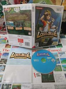 Nintendo-Wii-Lost-in-Blue-Shipwrecked-TOP-KONAMI-amp-1ERE-EDITION-Fr