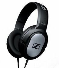 Sennheiser HD 201 OVER EAR HEADPHONES Rugged Extremely Comfortable - SILVER