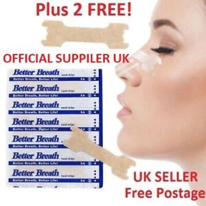 5-1000-Nasal-Nose-Sleep-strips-better-breathe-Stop-Snoring-Breath-Easier-Uk-p-amp-p