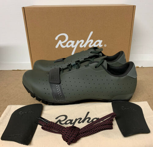 Rapha Explore Cycling Shoes Dark Green Size 9.5 UK 44 EU Brand New Boxed
