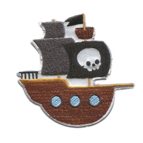 Aufnäher Bügelbild Piraten Patch Applikation Flicken Aufbügler