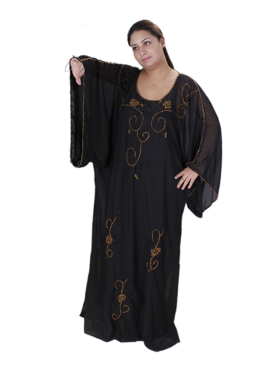 Two-Part Abaya in Gulf-Style Gulf-Style Gulf-Style Gala Dress Evening Dress Kaftan Tunic - Aby00339 a33c24
