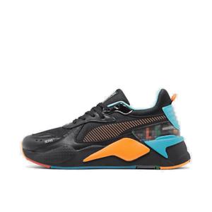 men's puma rsx tetris casual shoes puma black/luminous