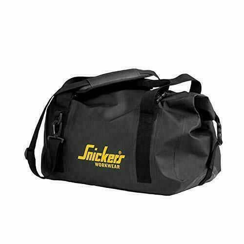 Snickers Logo Duffel Bag 9125 Black 28L NEW GREAT PRICE!