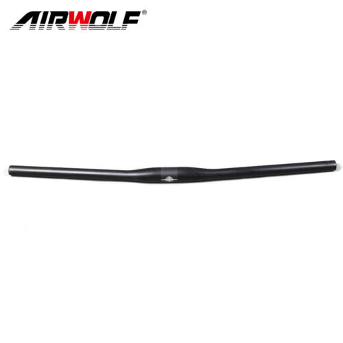 Full Carbon Fiber Mountain Bike Flat Riser Bar Handlebar 31.8*580-720mm