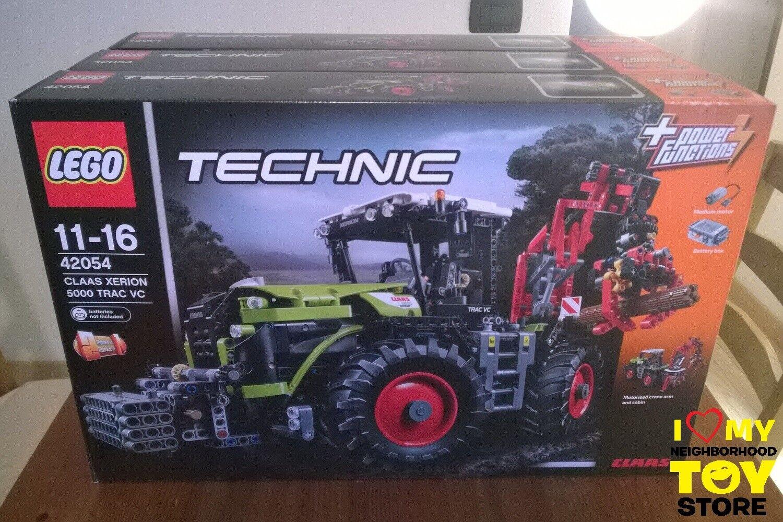 RETIrosso - LEGO 42054 TECHNIC CLAAS XERION 5000 TRAC VC  2016  - NISB