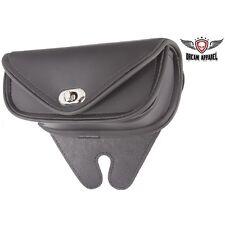 Plain Black PVC Motorcycle Windshield Bag for HARLEY DAVIDSON
