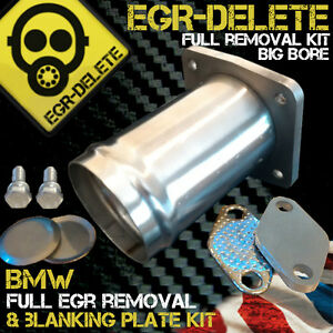 BMW EGR Delete E46 318d 320d 330d 330xd 320cd 318td 320td E39 520d 525d 530d X5