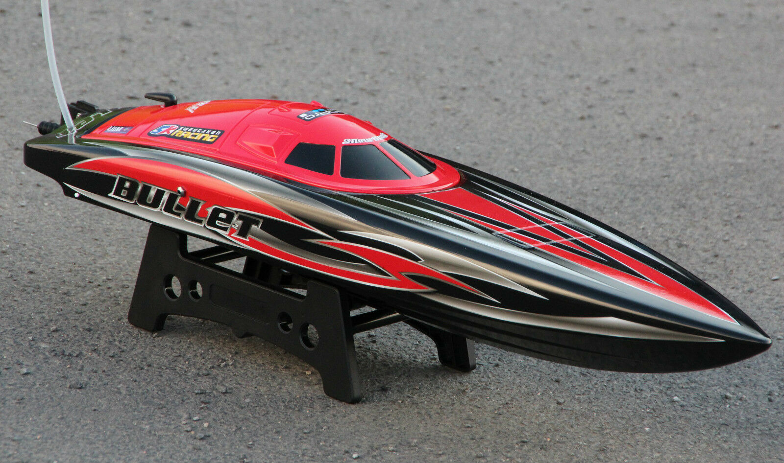 Joysway Rc Barco de Carrera Bullet V3 60+ 60+ 60+ km   H sin Escobillas V-Barco  ventas de salida