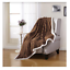 Soft-Plush-Reversible-Corduroy-Textured-Sherpa-Lined-Throw-Blanket-50-034-x-60-034 thumbnail 7