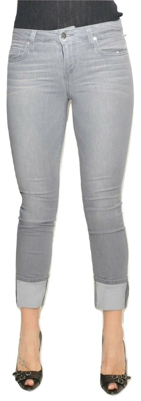 Joe's Jeans Flawless 4  Cuff Crop Mid Rise Stretch Denim Pants Lacey Nwt  158