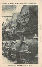 B92982 bodegas de gonzalez byass los toneles  antigos Jerez de la Frontera spain