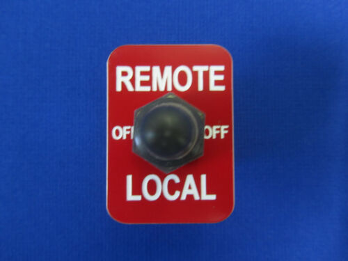 Remote Switch Fits Lincoln Welder Sa 200 250 Toggle APM Hexseal Boot /& Red Plate