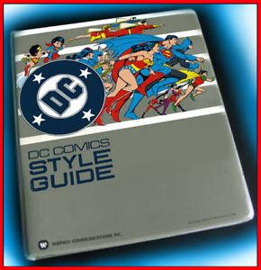 DC-Comics-Style-Guide-Super-Powers-Jose-Luis-Garcia-Lopez-Model-Sheet-Superman