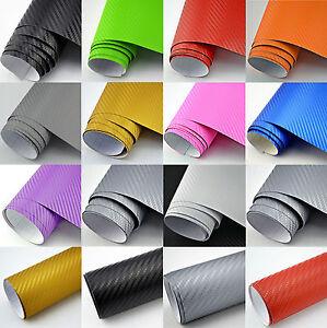 9 18 M Premium 3d Carbon Folie Alle Farben Blasenfrei Deko Mobel