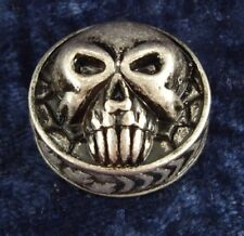 SKULL SPEED KNOB FOR GUITAR or BASS with ALAN SET SCREW - MADE OUT OF METAL