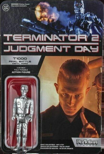 Terminator 2 Judgment Day T1000 Final Battle Metal Form Action Figure