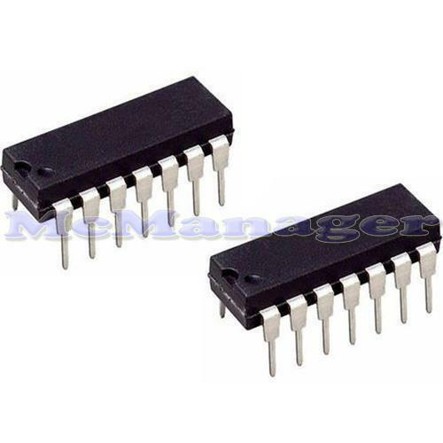 2x CD4016 HCF4016 QUAD bilaterial Interruttore C-MOS IC