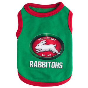 SOUTH-SYDNEY-RABBITOHS-NRL-TEAM-LOGO-PET-TANK-T-SHIRT-CAT-OR-DOG-SIZES-XS-6XL