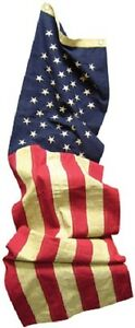 """American Flag Cotton Table Runner Red White Blue 16x72"""" USA Americana New"""