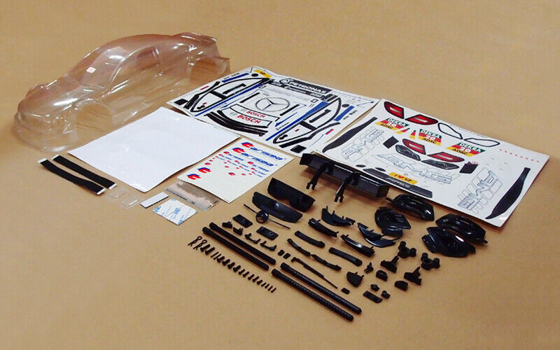 NEW Carisma M40S Mercedes AMG C-Class DTM 2014 Clear Body #20 RED FREE US SHIP