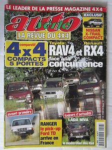 AUTO-VERTE-4X4-N-233-FORD-RANGER-TD-RAV4-VS-RX4-LADA-NIVA-NISSAN-X-TRAIL