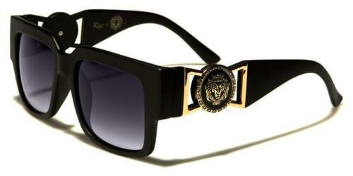 Occhiali Da Sole Firmati SQUARE grande classico vintage UV400 KLEO Donna Ragazze