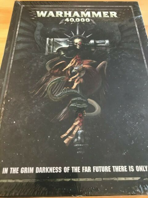 Warhammer 40k Dark Imperium 8th Edition Rulebook Hardcover
