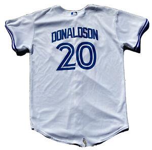 MLB-Toronto-Blue-Jays-Majestic-Josh-Donaldson-20-Youth-Jersey-Size-XL-White