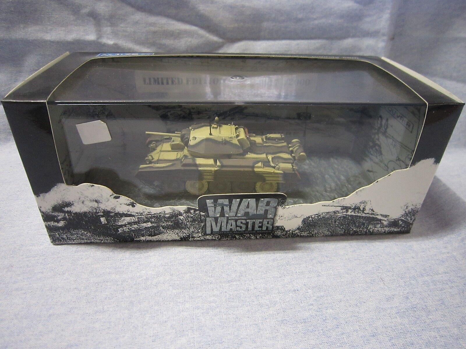 ZA003 WAR MASTER CRUISER MK IV A CRUSADER North Africa 1943 1 72 TK007 Ed Lim NB